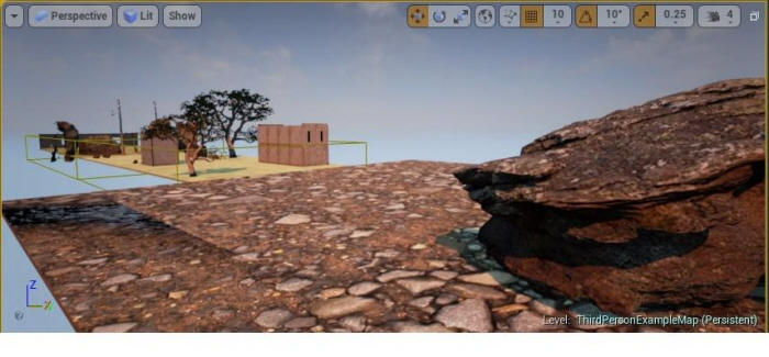 Unreal 4 3D Platformer by Eric Petit-Frere at Coroflot com