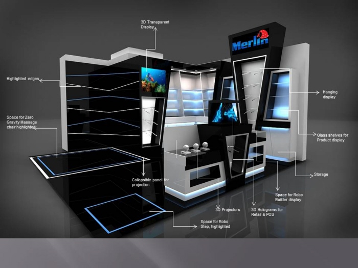 Exhibition Stand Shelves : Merlyn exhibition stand by theosign design at coroflot