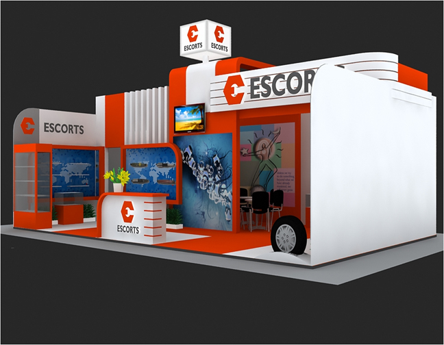 Exhibition Stall Design Images : Exhibitions stall designs by sankalan india at coroflot