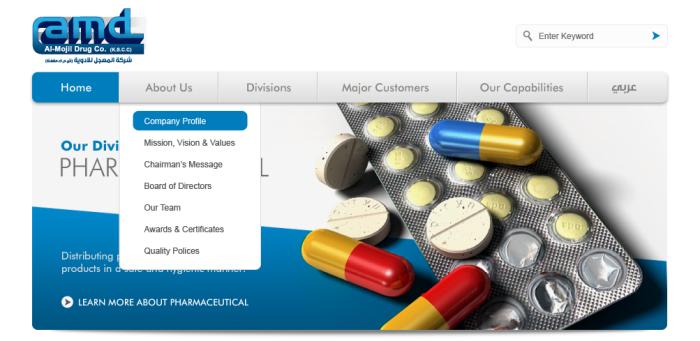 Al Mojil Drug Co  by Suha Salameh at Coroflot com