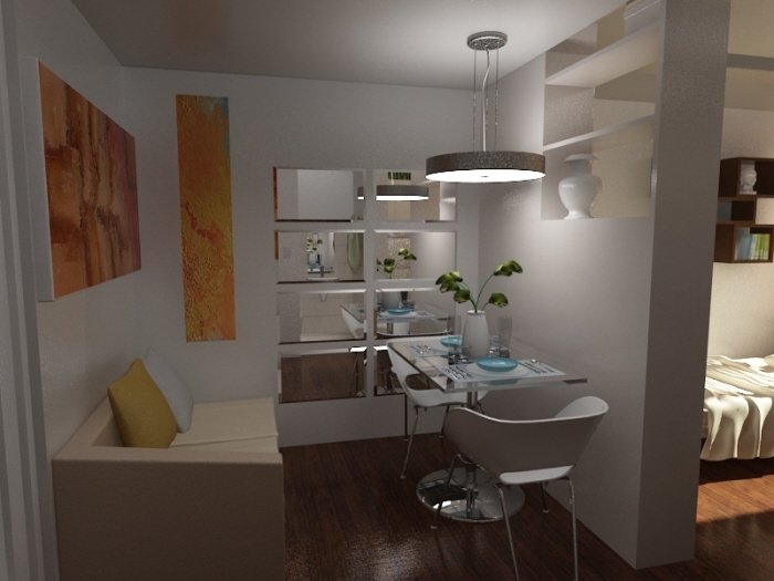 Proposed studio type interior design by paul pio at - How to get a job as an interior decorator ...