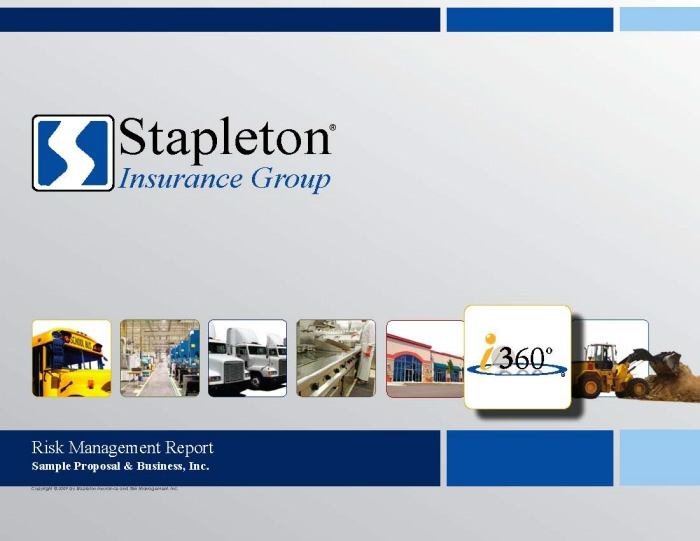 Commercial Insurance Proposal Sample Version By Scott Bolyard At
