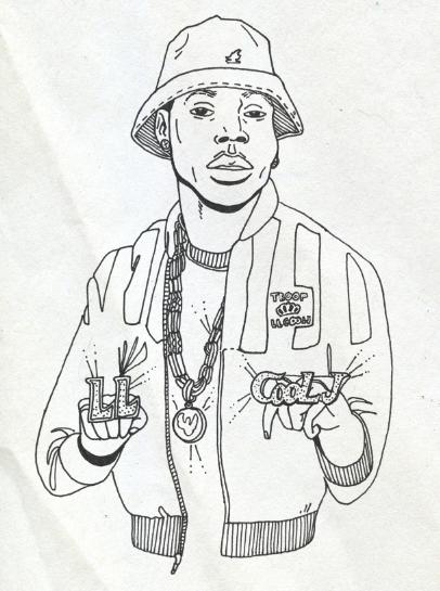 Hip Hop Coloring Book By Jordan Kay Phillip At Coroflot Com