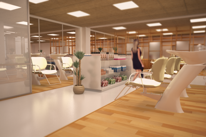 Beauty Clinic Interior Design By Jose Mayan Quintos At