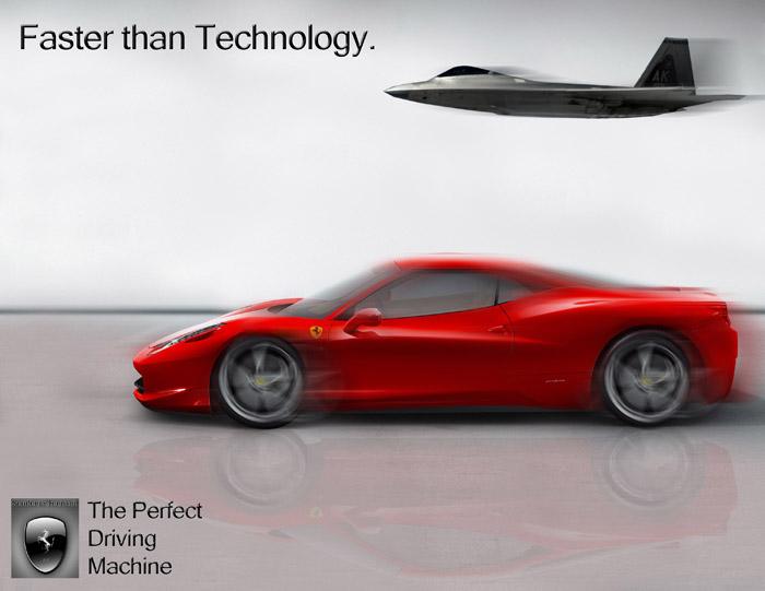 Ferrari Advertisement By Dontel Johnson At Coroflot Com