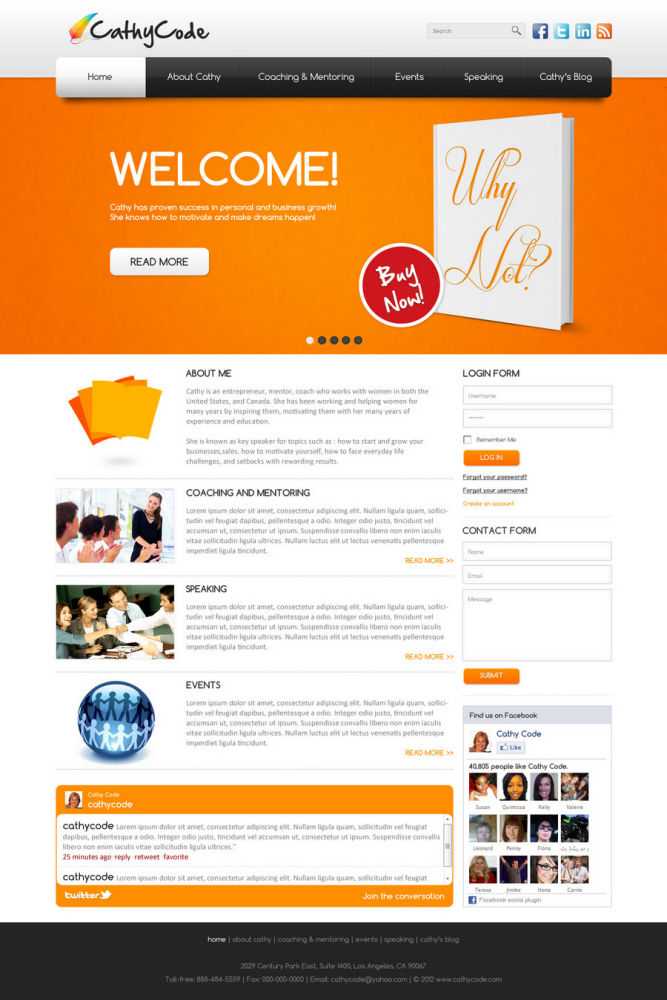 Web Template Design By Hasan Ahmed At Coroflotcom - How to design a website template