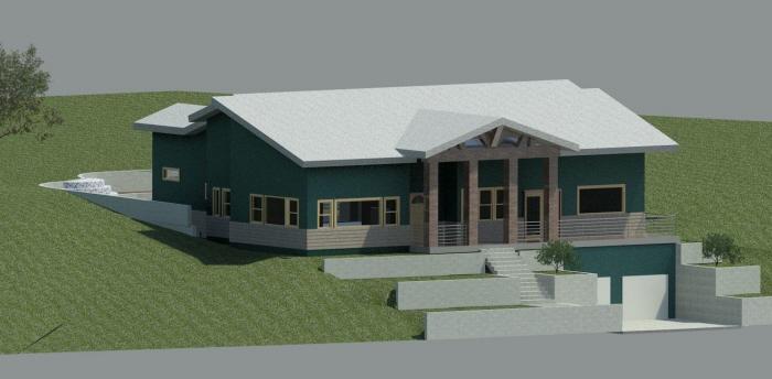 School Final Special Project Revit Model Of House Design By Joseph Graff At Coroflot Com