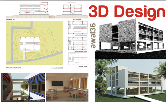 AutoCAD / 2D / 3D / Drawing / Floor Plan / SketchUp by