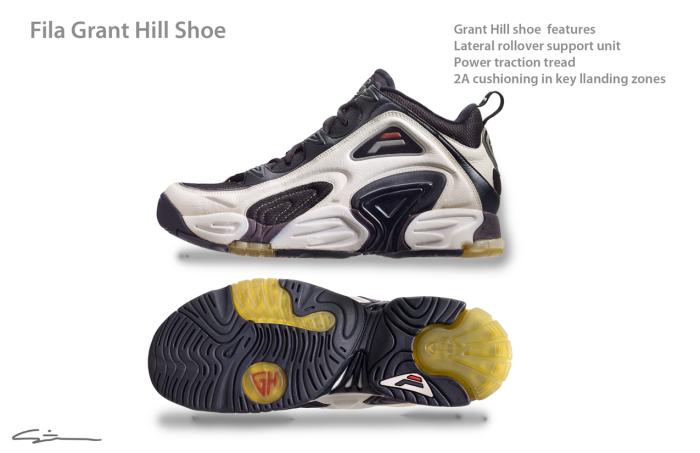 Fila Grant Hill shoe by Steven F. Smith at