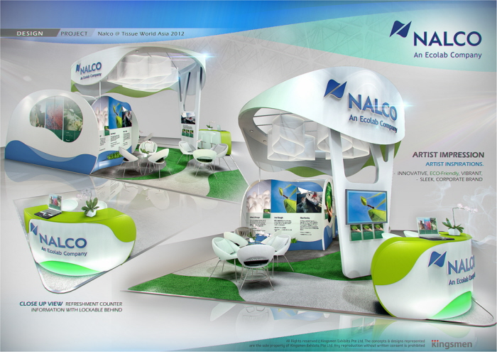 Exhibition Stand Design Singapore : Standard booth by amornwat osodprasit at coroflot