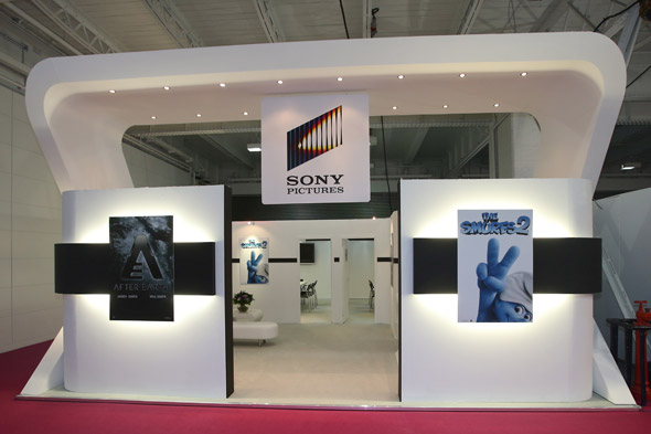 Exhibition Stand Companies : Sony exhibition stand design by astro exhibitions at