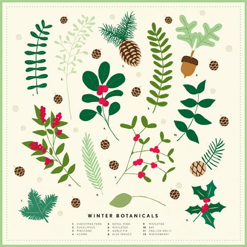 martha stewart woodland christmas - Woodland Christmas