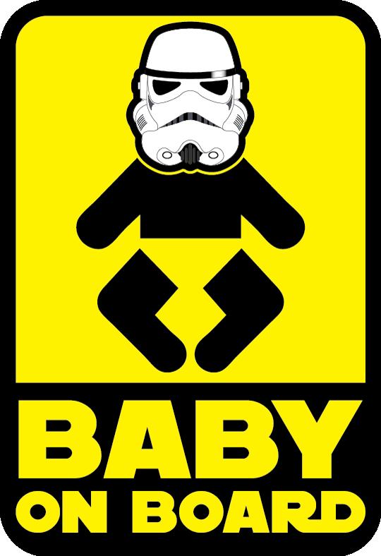 Baby On Board Stormtrooper By Dan Skebo At Coroflot Com