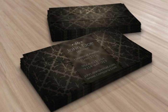 Elegant Brown Vintage Business Card Template By Borce Markoski At