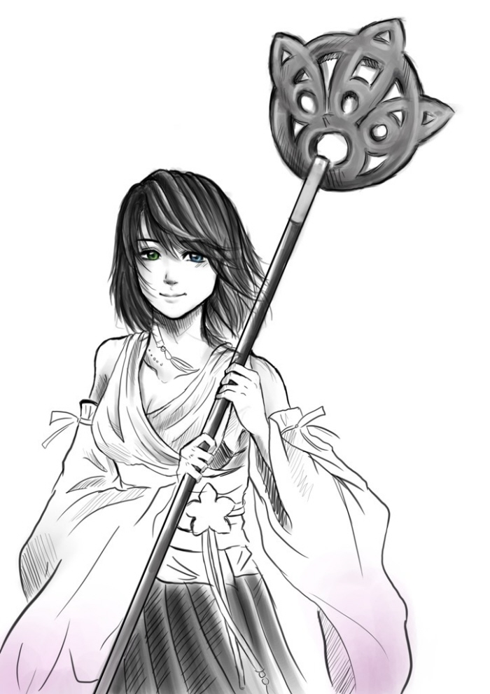 Final Fantasy Fanarts By Clarensia Stefanie At Coroflot Com