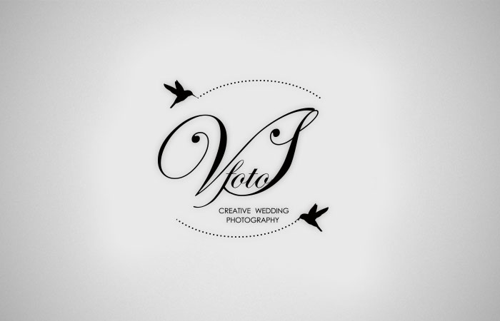 Logo Design For Vsfoto Wedding Photography By 2bdesigner
