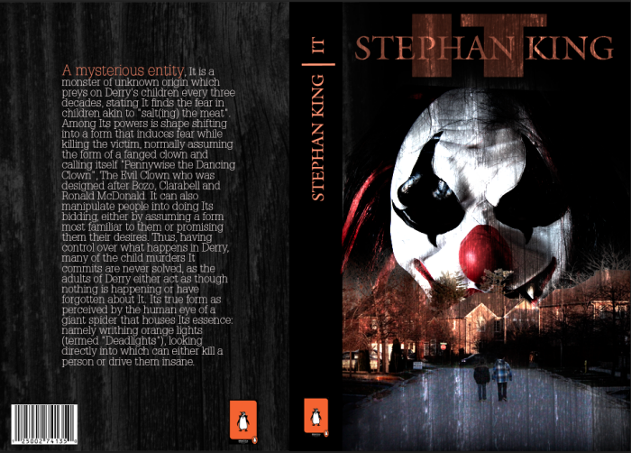 Book Cover Design Jobs Canada ~ Stephen king book cover design by nick libertucci at