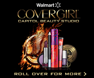 Covergirl For Hunger Games Banner Ad By Roxanne Fatima Velasquez At Coroflot Com