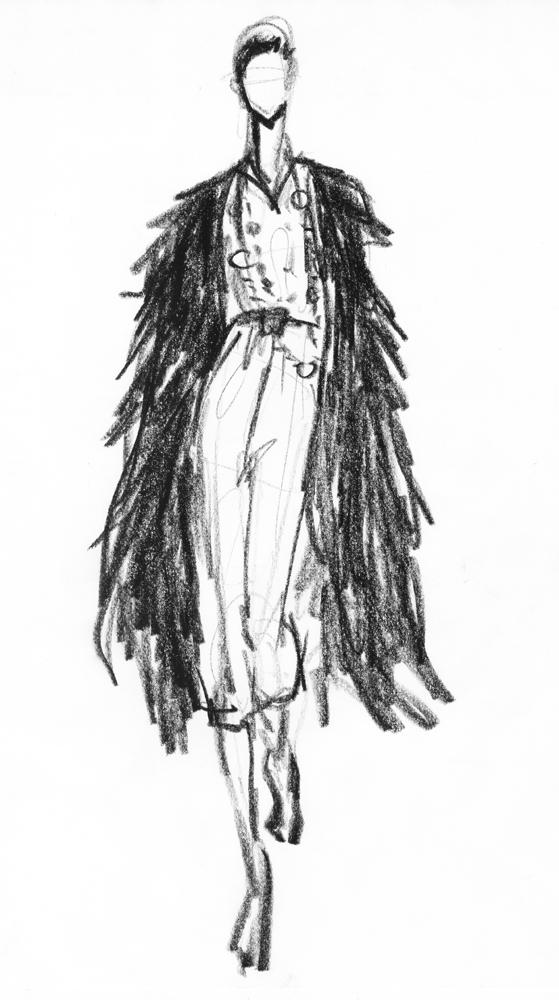Fashion Sketches By Susanna Ngao At Coroflot Com