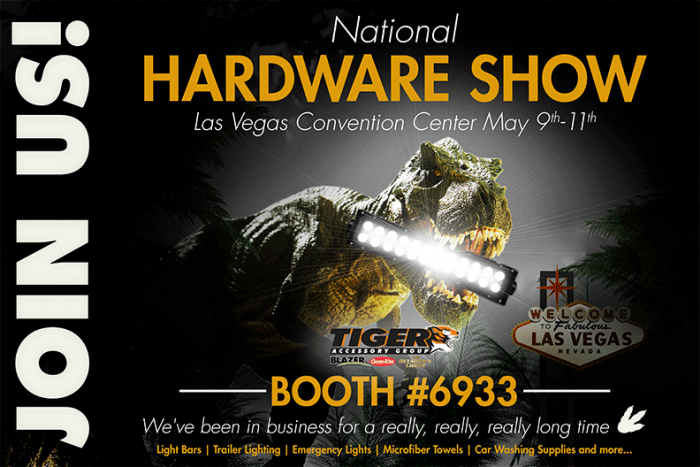 National Hardware Show E-Vite(GIF) by Boe W  Adkins at