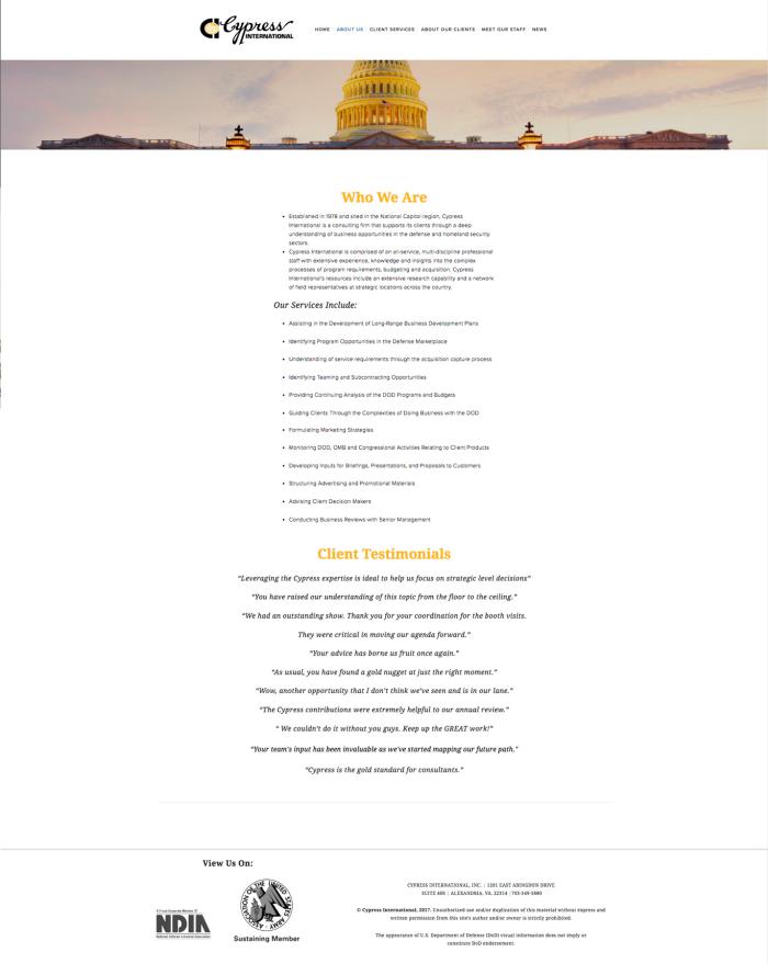 Cypress International by Umme Bukhari at Coroflot com