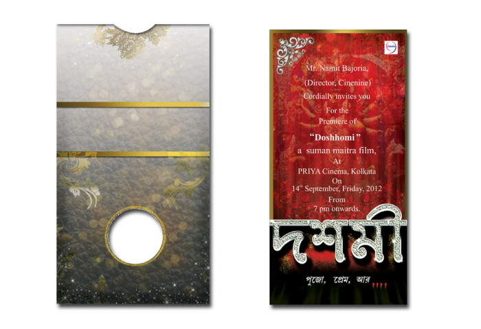 Invitation Card Flyers Ecards Leaflet Brochure By Saheli