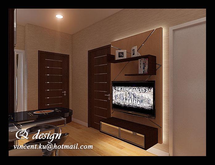 Mr Didi S Apartement Greenbay Interior Design By Vincent Kurniawan At Coroflot