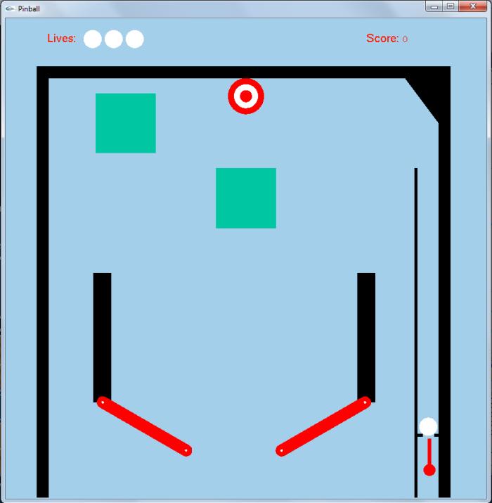 C++ Pinball Game by Pete O'Neal at Coroflot com
