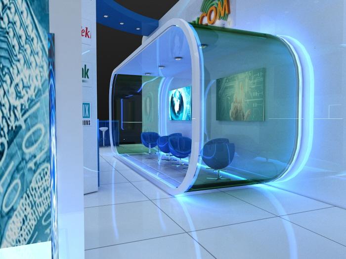 Exhibition Stand Jobs Dubai : Hight technology exhibition design dvcom by larah