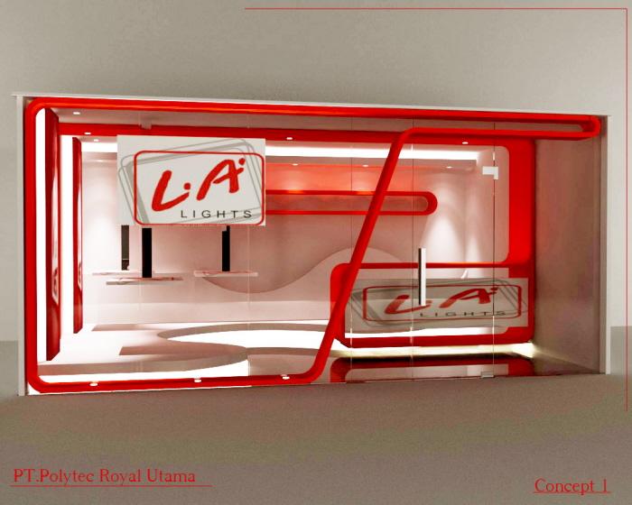 Djarum La Light Cigarette Booth concept by Hendres Gunawan