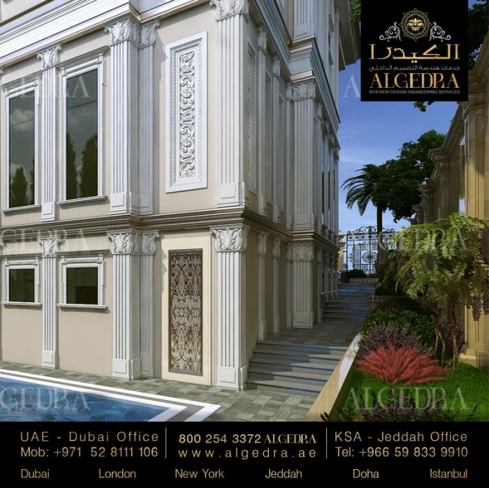 Modern And Stylish Exterior Design Ideas: Villa Exterior Design By ALGEDRA Interior Design At