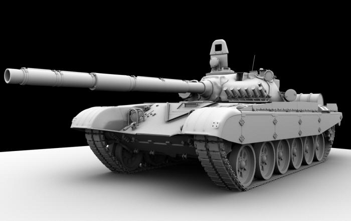 Tank T 72 3d Model By Petar Velichkov At Coroflot Com