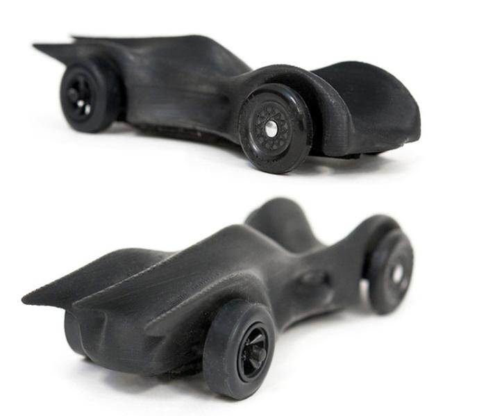 3D Printed Pinewood Derby Car by Cody Lynn at Coroflot com