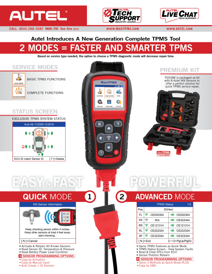 Press Release - TS508 New Product Sales Flyer by Daniel