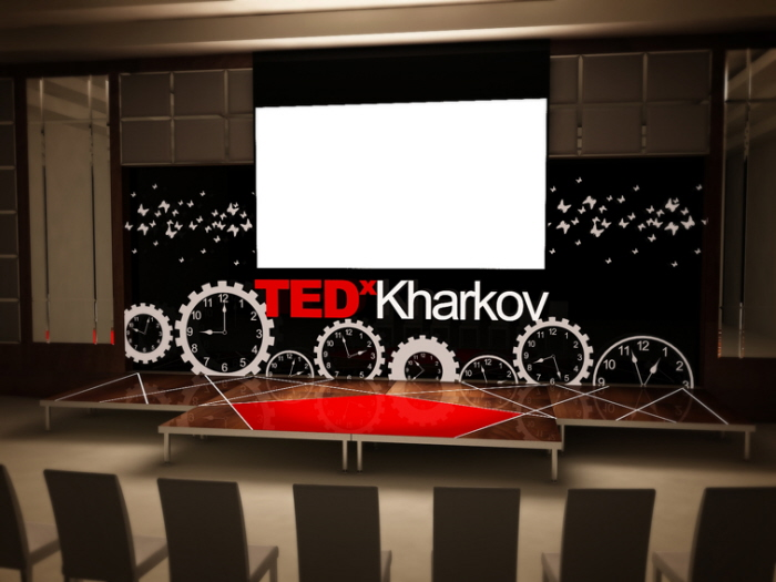 Booth Design For Exhibition : Tedx stage design by vira aharkova at coroflot