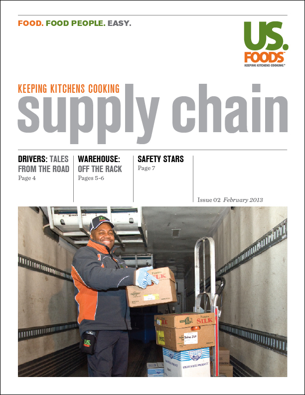 US Foods Supply Chain Employee Newsletter by Mark Meyer at