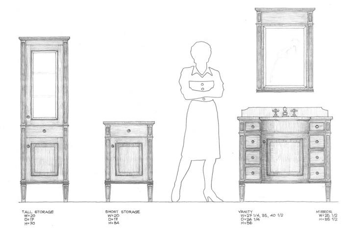 harborview bath furniture by robert hudson at coroflot com