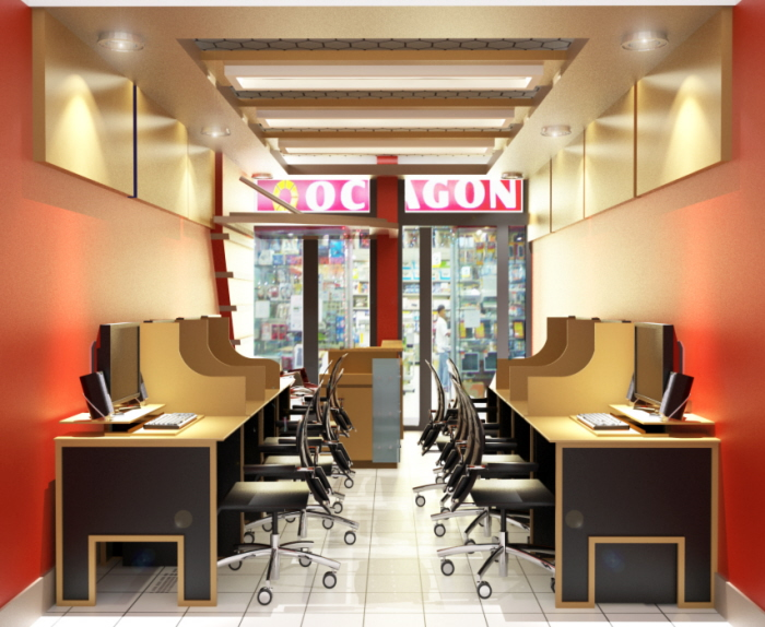 Nepo Mall Computer Shop Angeles City By J J S Architectural Services At Coroflot Com