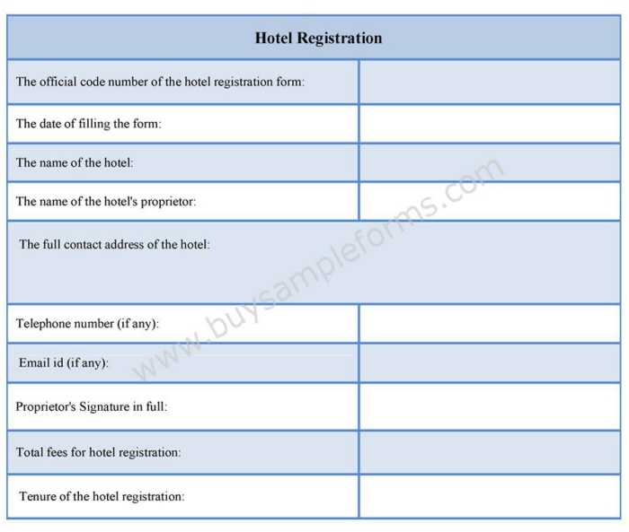 Hotel registration form example by jasmine everett at coroflot a hotel registration form is typically used for the business purpose and is issued to register the hotels name in the legal record of the government or the thecheapjerseys Gallery