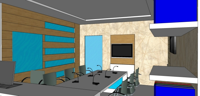Interior Design Office Md Cabin