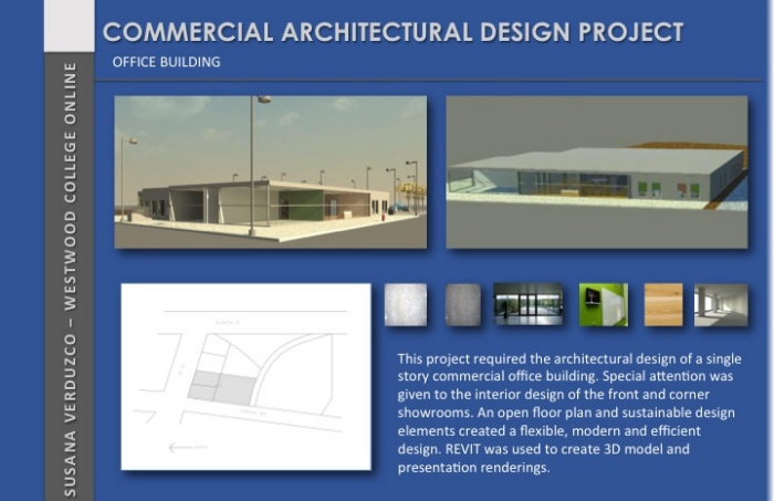 COMMERCIAL ARCHITECTURAL DESIGN PROJECT by Susana Carrillo