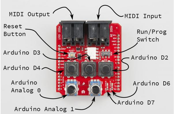 Arduino - Midi to CV Arpeggiator by Brian Tuley at Coroflot com