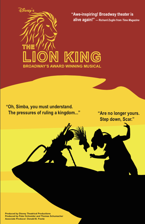 The Lion King Broadway Re Branding By Neylyn A Martinez At Coroflot Com