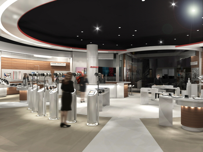 Canon Experience Centre Calgary By Paul Wigfield At Coroflot Com