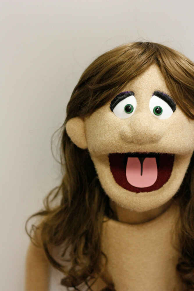 Custom Professional Female Puppet By Creative Productions