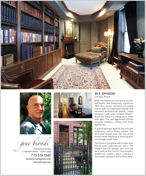 Home By Design Magazine - Gene Biondi, Coldwell Banker Luxury Homes ...