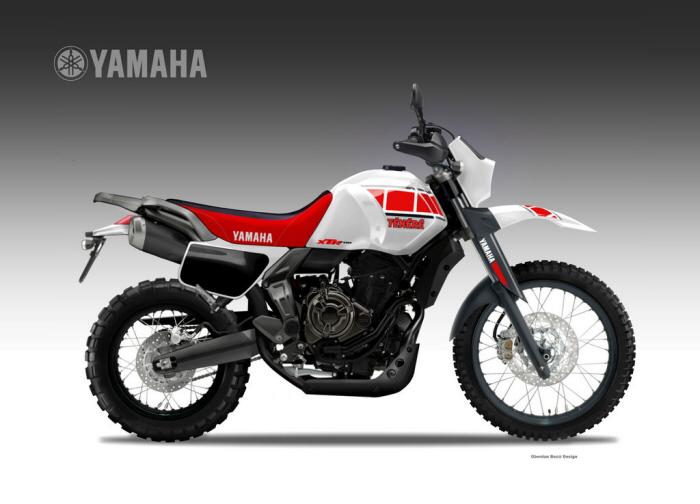 yamaha xtr 700 tenere 39 by oberdan bezzi at. Black Bedroom Furniture Sets. Home Design Ideas