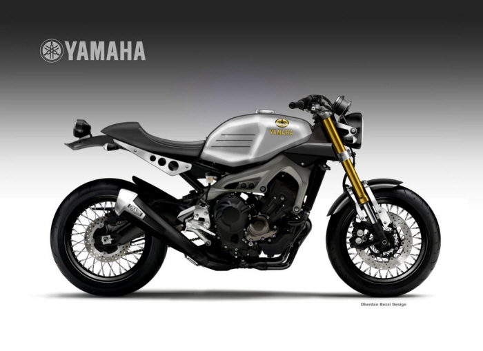 YAMAHA XSR 900 FASTER SONS By Oberdan Bezzi At Coroflot