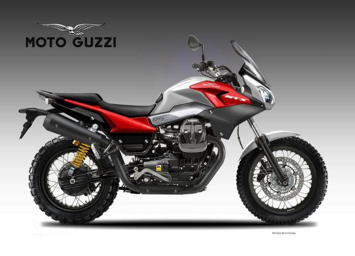 moto guzzi v9 ntx by oberdan bezzi at coroflot com