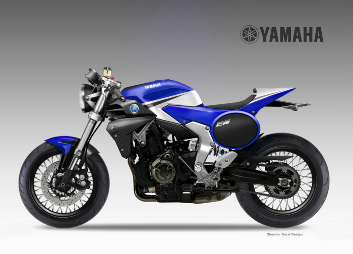 YAMAHA MT 07 CAFE RACER CONCEPT By Oberdan Bezzi At Coroflot
